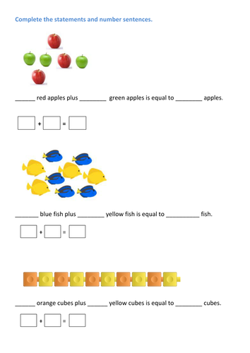 Year 1- Block 2 addition and Subtraction Week 5