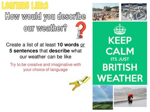 WEATHER HAZARDS - 6. UK weather