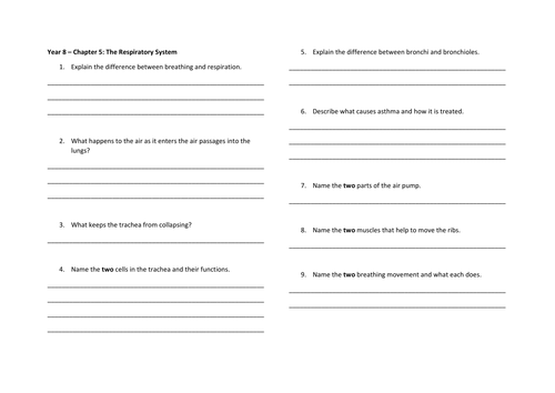 cambridge science checkpoint 2 worksheets by nicktbl teaching
