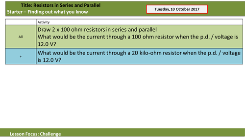 Resistors in Series and Parallel -- the easy way