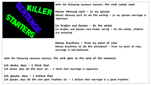 German Perfect Tense Verb Wheels By Vicky79 Teaching Resources Tes