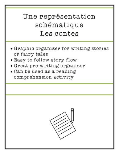 Story & Fairy Tale Graphic Organizer | en français