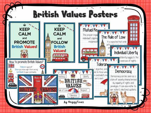 British Values Display Posters
