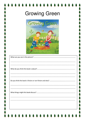 Growing Green Guided Reading