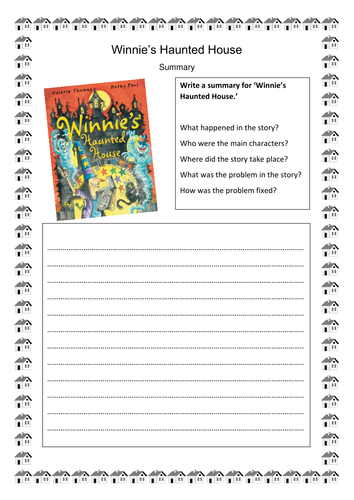 Winnie's Haunted House Guided Reading