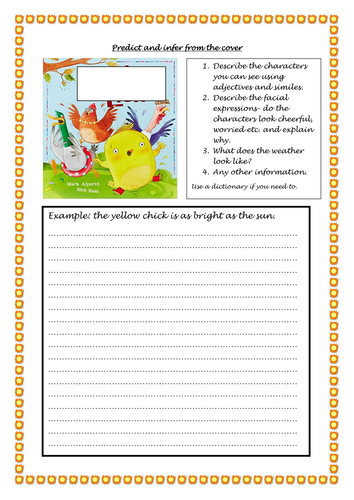 Chicken Licken Guided Reading Resources