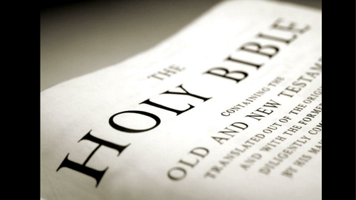 Religious Studies - Bible as a Source of Authority
