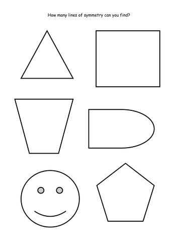 Maths KS2 Lines of symmetry