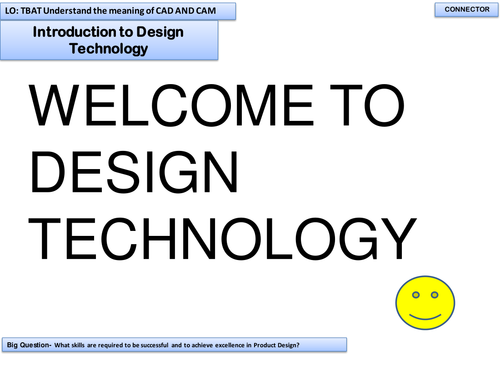 KS3 lesson on advantages and disadvantages of CAD