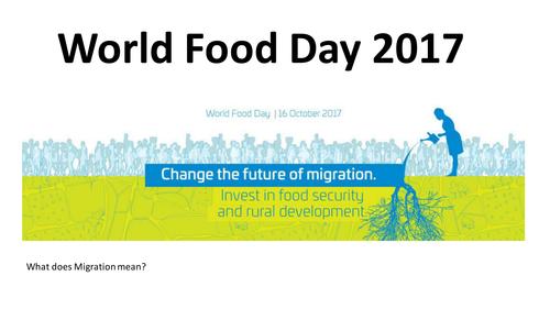 SEN world Food Day 2017