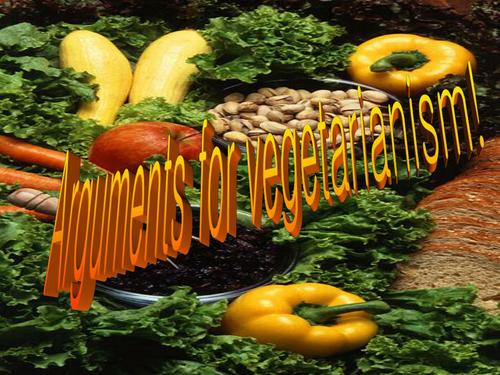 Vegetarianism Persuasive Argument