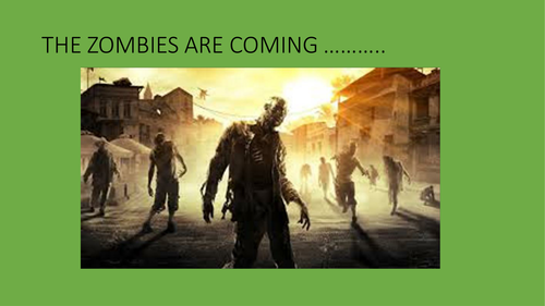 Zombie survival group work