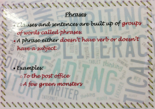 Phrases Poster