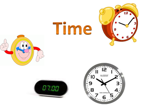 Telling the time lesson resource (Year 2/3)