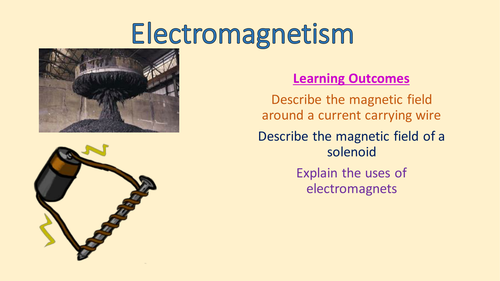 AQA Physics 9-1 - 4.7.2.1 Electromagnetism