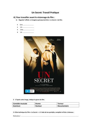 Un Secret : Philippe Grimbert