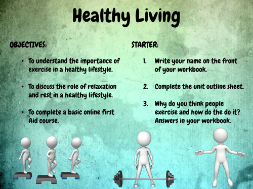 Year 7 PSHE - Healthy Living