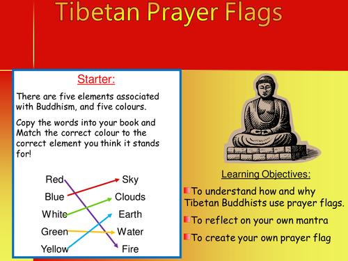 Tibetan Prayer Flags - Buddhism (FREE)