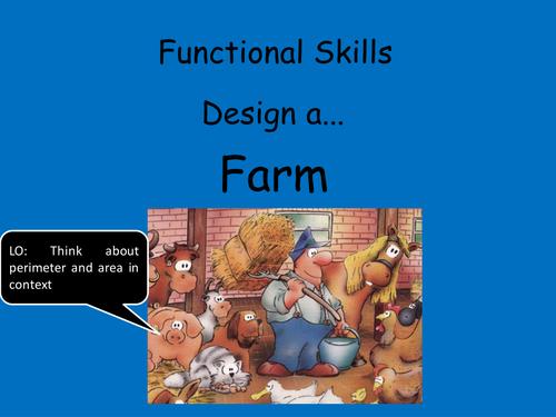 Functional Mathematics: Build a Farm