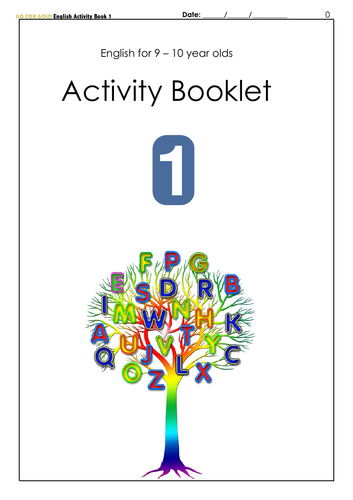 English for 9-10 year olds Activity Book 1