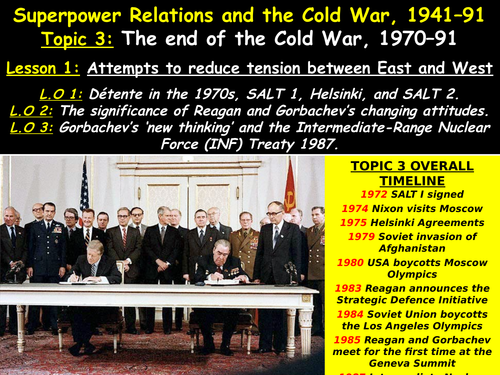 the changing relationships of the superpowers during the cold war The cold war (1946 - 1991) was the tense relationship between the united states (and its allies), and the soviet union and was extremely important during the cold.
