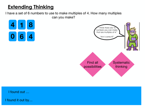Deepening and Extending Learning- Year 3 Mastery Questions
