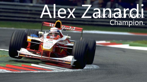 Inspirational People / Perseverance and Resilience - The Alex Zanardi Story