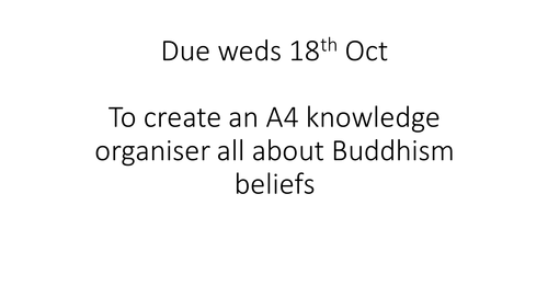 AQA Religious studies A Buddhism beliefs Dhamma and the three refuges lesson