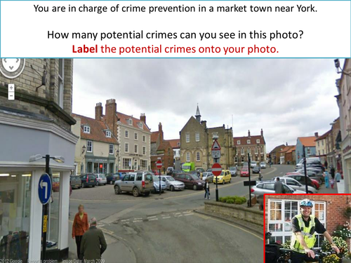 KS3 The Geography of Crime