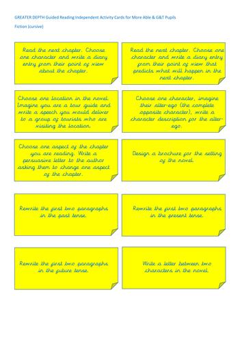SATs Style Grammar Tasks KS2