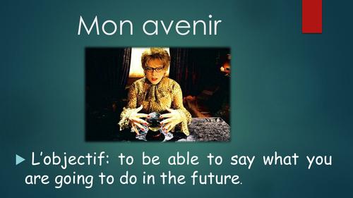 Studio 3 vert- Module 3 A l'horizon- Unit 1 Mon avenir Year 9