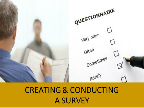 AQA 7993 EPQ Taught Skills for Students - Designing and Conducting the Survey