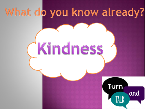 Kindness (PSHE/Year 4/5)