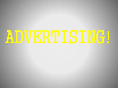 KS3/KS4 advertising scheme of work English or Media group work
