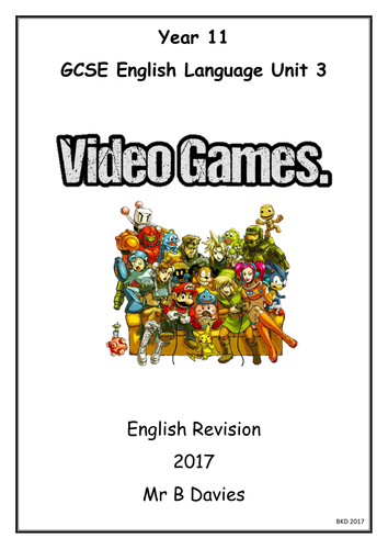 Reading Questions Practice Booklet - WJEC *New* English Language GCSE - Synthesis/Summary/How does..