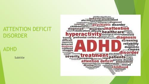 ADHD CPD Presentation