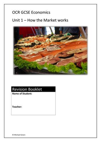 Paper 1 OCR Economics GCSE