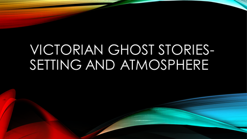 Victorian Ghost Stories and A Christmas Carol Stave I