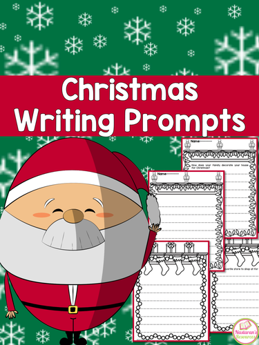 Christmas Writing Prompts and Papers