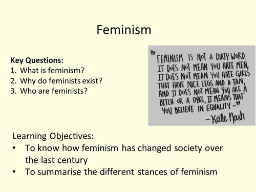 AQA A Level Sociology Feminism