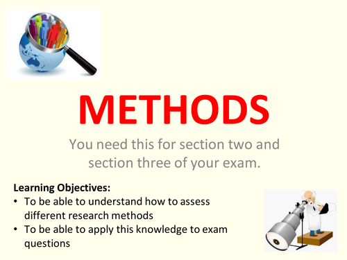 AQA A Level Sociology Education and Research Methods - Introduction to Research Methods