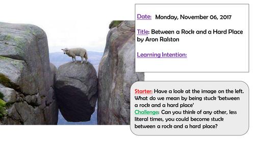Between a Rock and a Hard Place Edexcel iGCSE English Language Anthology A (9-1)