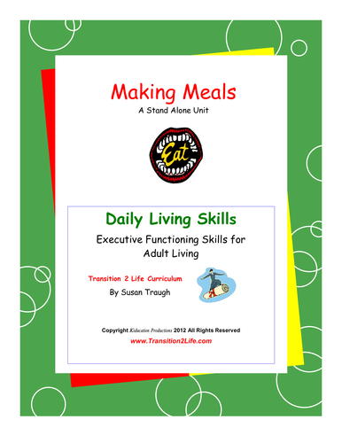 DLS Making Meals Workbook-Daily Living Skills