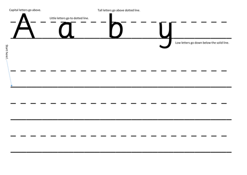 Letter size and formation sheet SmartPal