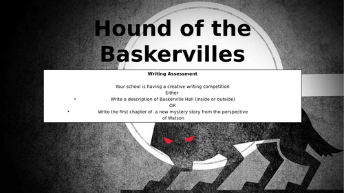 Hound of the Baskervilles - 19 lessons that covers the retold version
