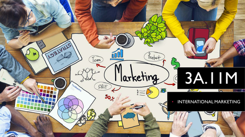 9609 CIE A Level Business 3A.11M International Marketing, Globalised Marketing Strategy, Localised