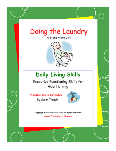 DLS Doing the Laundry-Daily Living Skills
