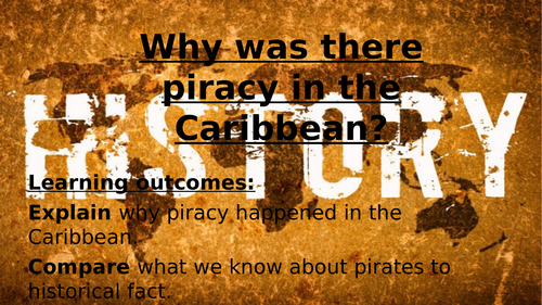 Piracy in the Caribbean