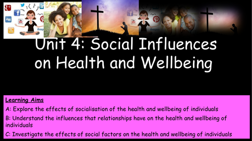 Unit 4 - Primary and Secondary Socialisation
