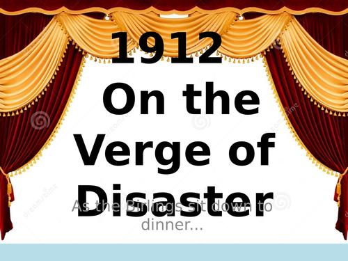 GCSE An Inspector Calls: Cultural context of 1912/1945 AO3